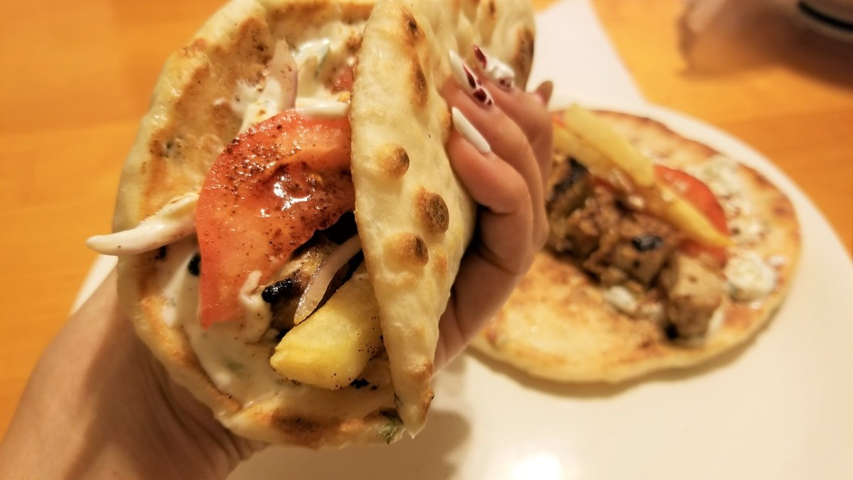 Fluffy Greek Pita Bread with Cool & Creamy Tzatziki Recipe