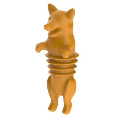 Corgi Wine Stopper, a great Christmas gift!
