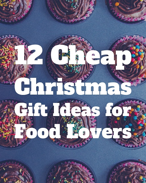 Affordable christmas gift ideas for foodies