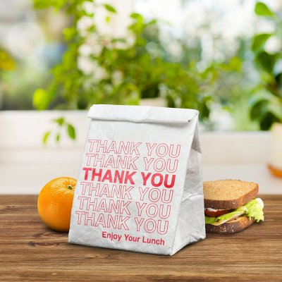 This Take Out Lunch Bag is a funny and cool christmas gift for foodies.